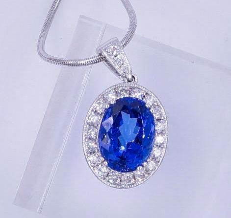 7_Carat_Tanzanite_Diamond_Pendant