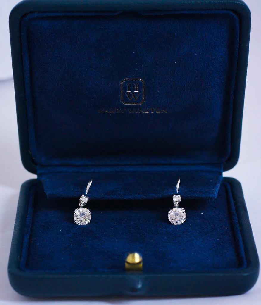 Harry_Winston_Diamond_Earrings