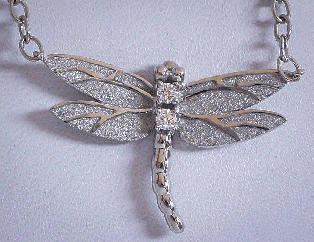 Tiffany Dragonfly Pendant