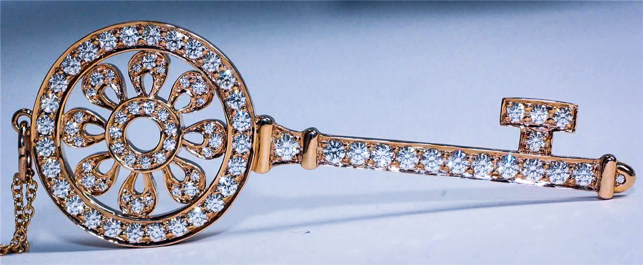 Tiffany Key Pendants