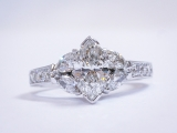 Vintage Marquis Diamond Ring